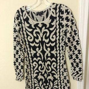 International Concepts Sweater dress with shimmer